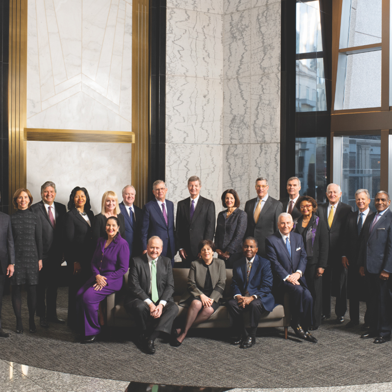Group photograph of Truist's Board of Directors